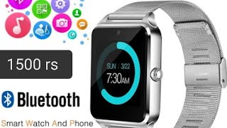 z60 smart watch unboxing and review (gt09)