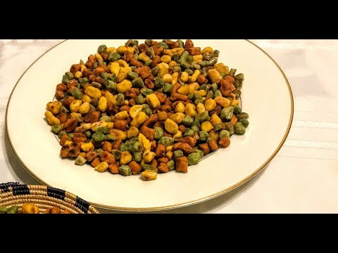 How to make Ethiopian Dabo kolo Snack with natural ingredients part 2