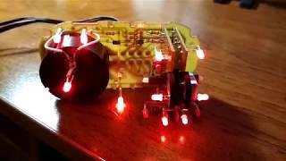 Пересветка модуля управления светом приора старого образца