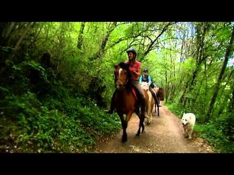 La vallée des chevaux en Dordogne