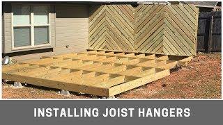 Installing Joist Hangers