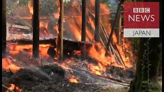 ロヒンギャの村を燃やしているのは誰か BBC記者の前で村が ロヒンギャ 検索動画 24