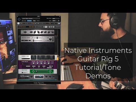 Native Instruments Guitar Rig 5 Tutorial/Tone Demos