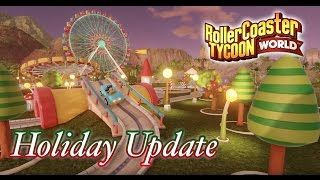 rct world update 2 holiday update new flat rides