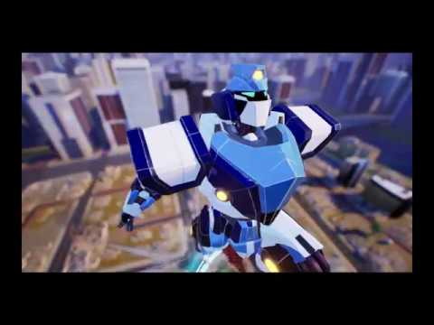 Let's trash the city while saving it with Override: Mech City Brawl |