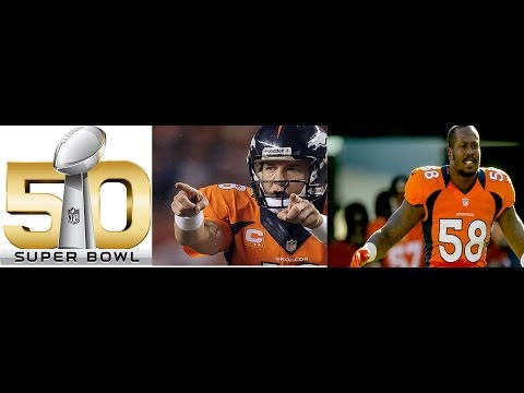 SUPERBOWL 50 ALL 50 MVP TRIBUTE Most Valuable Players!