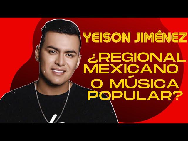 Yeison Jiménez nos habla de