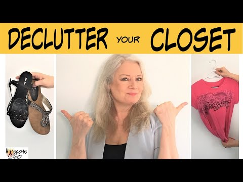 Declutter & Clean Out your Closet & Wardrobe, Fashion & Style for Mature Women, Awesome over 50