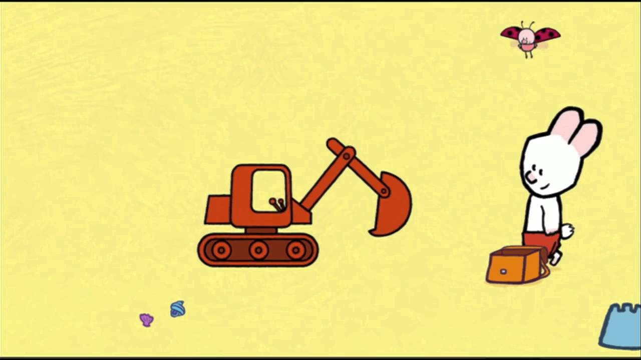 Digger Louie draw me a digger Learn to draw, cartoon for ...