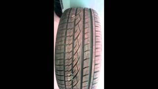 видео Купить шины Continental ContiCrossContact Winter 295/40 R20 110 V XL в Калининграде