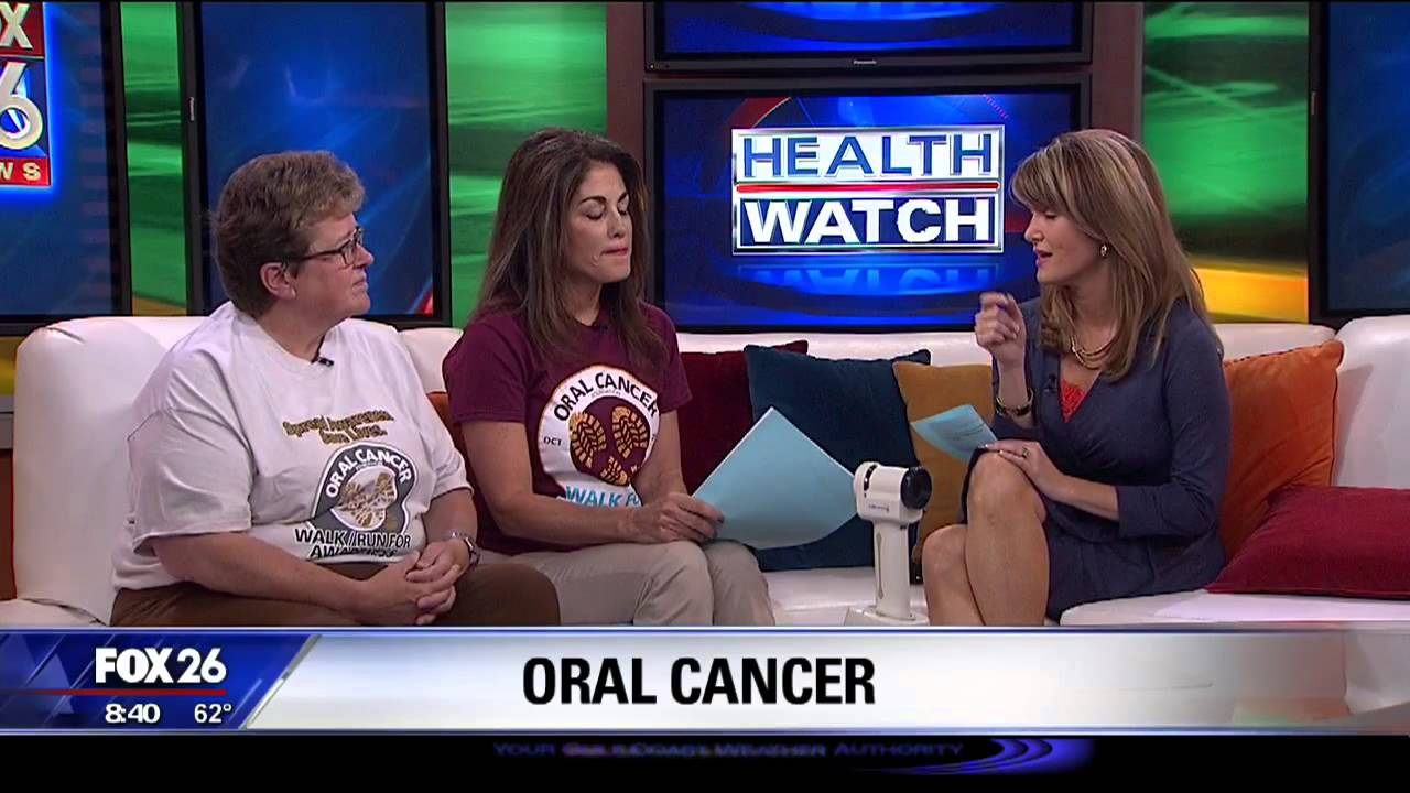 teen survivor of oral cancer