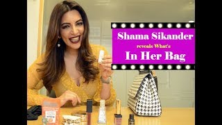 Shama Sikander reveals What's In Her Bag