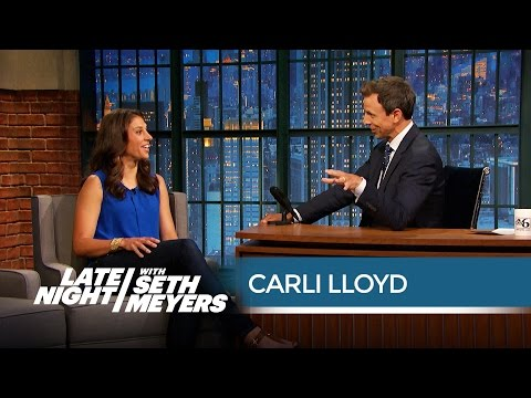 Pro Soccer Player Carli Lloyd on Male Soccer Players' Habit of Flopping