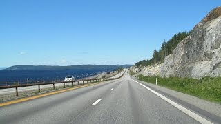Norway: E6 along Lake Mjøsa