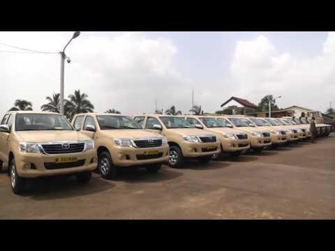US Donates Toyota Trucks And Military Equipment In Fight Against Boko Haram