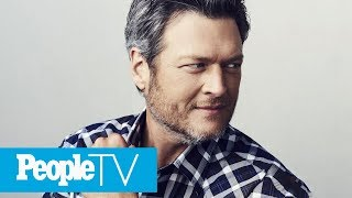 Blake Shelton, Sexiest Man Alive 2017, Talks Gwen Stefani & More | PeopleTV | Entertainment Weekly