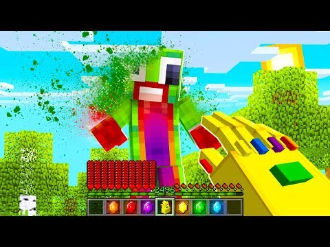 HOW TO GET THE INFINITY GAUNTLET IN MINECRAFT! (With UnspeakableGaming & 09SharkBoy)