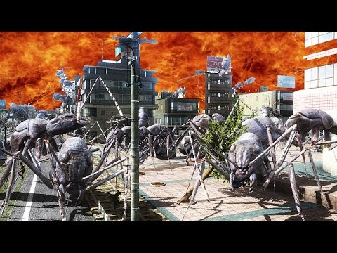 Earth Defense Force: A Song of Ants and Fire
