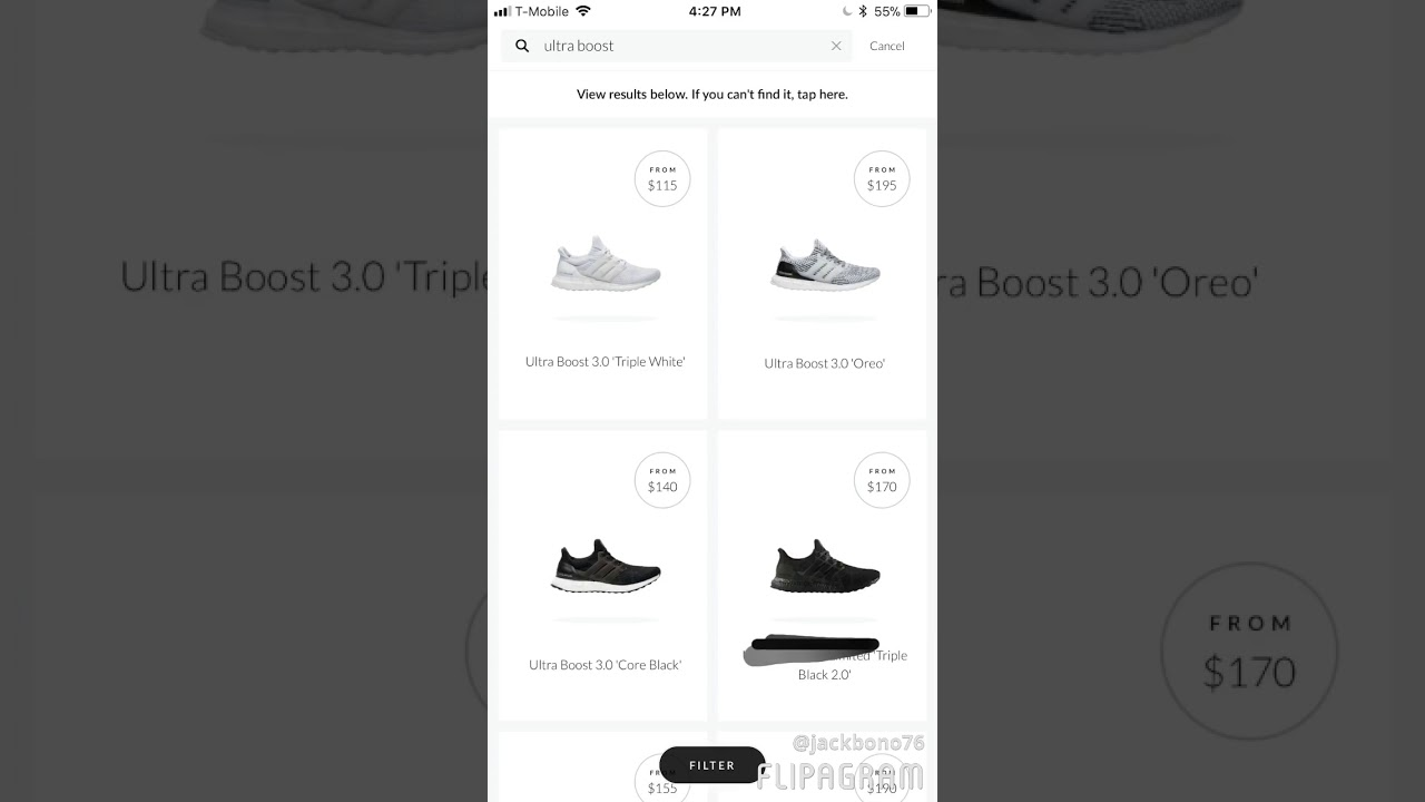 How to buy shoes off the (GOAT APP