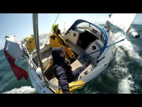 s/y Go-Cart Sailing the Irish Sea - Whitehaven to Bangor
