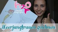 Meerjungfrauen zeichnen leicht gemacht? | H2O - Plötzlich Meerjungfrau | Special