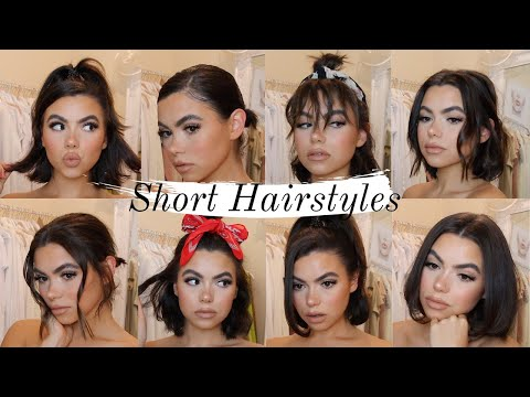 quick-easy-hairstyles-for-short-hair-|-using-only-straighteners-|-tutorial