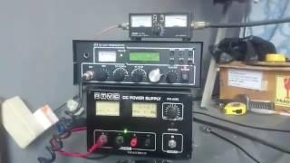 Test antena Vertikal pada Freq Gelombang 40 Meter Band