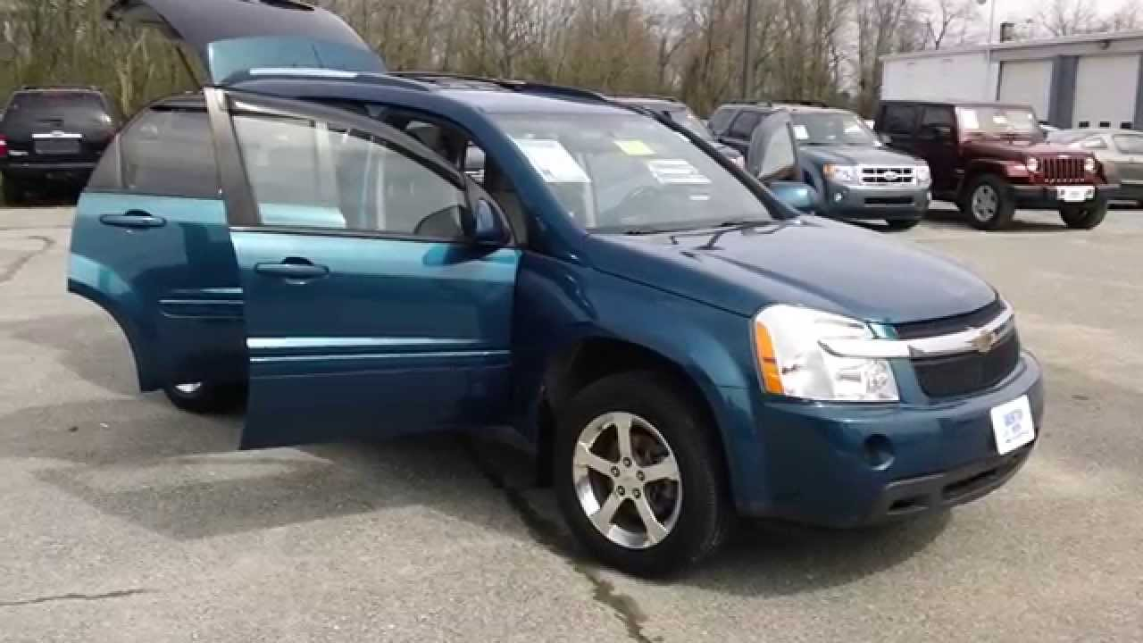 Used Chevy Equinox >> 2007 Chevrolet Equinox LT AWD, Used cars for sale in ...