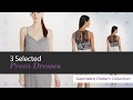 3 Selected Prom Dresses  Geometric Pattern Collection