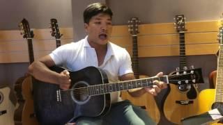 1234 (Chi Dân) guitar cover Ngô Núi - Lên nóc nhà với bản remix bằng guitar cùng Núi
