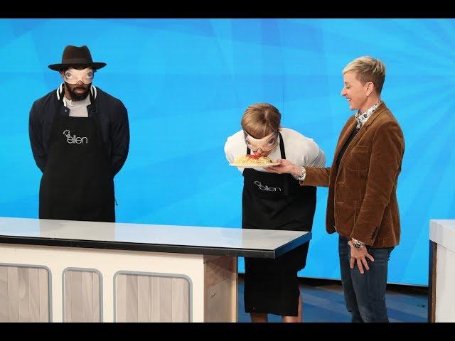 Ellen's Game Tests Allison Janney's 'Taste Buds'