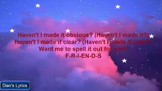FRIENDS  Marshmello AnneMarie Lyrics