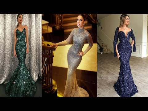 gorgeous-elegant-sequins-floor-touch-mermaid-dresses/sparkling-mermaid-prom-gowns-for-evening-party