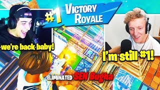 TFUE CLOAKZY KHANADA *DOMINATE* BUGHA, NINJA, CLIX & FaZe Clan in SQUAD FINALS! (Fortnite)