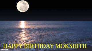 Mokshith  Moon La Luna - Happy Birthday