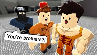 The Prison Bully is My Brother? | Roblox Roleplay