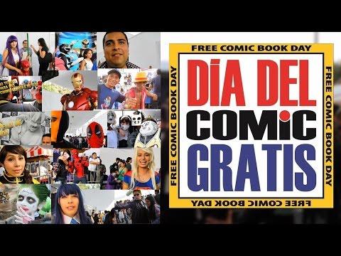 FREE COMIC BOOK DAY 2017 / PASARELA COSPLAY