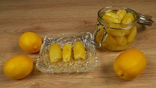 Γλυκό του κουταλιού λεμόνι (Lemon spoon sweet)