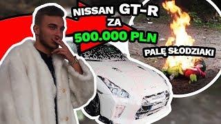 Spaliłem świeżaki w moim Nissanie GT-R za 500.000 zł! | Lord Dzik