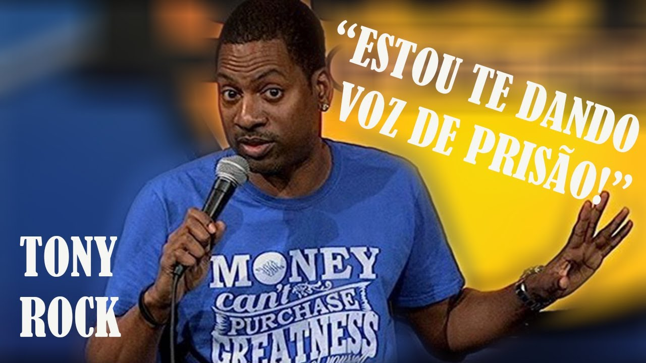 Tony Rock - Cara Branco no Aeroporto (Legendado)