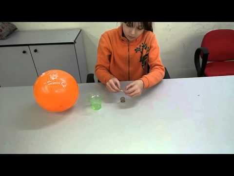 İlginç Deney - Balon ile kibrit oynatma