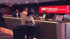Fort Lauderdale-Hollywood International Airport (FLL) - Finding Your Way to the Avis Counter