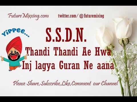 Latest Ssdn Bhajan Thandi Thandi Ae Hwa Youtube