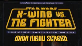 Star Wars: X-Wing vs TIE Fighter OST - Main Menu Screen