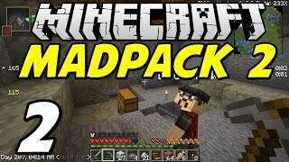 "Minecraft MADPACK 2 - E02 ""Unwelcome House-guests!"""