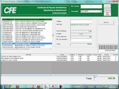 C 243 Mo Hacer Un Inventario En Excel Con C 243 Digo De Barras