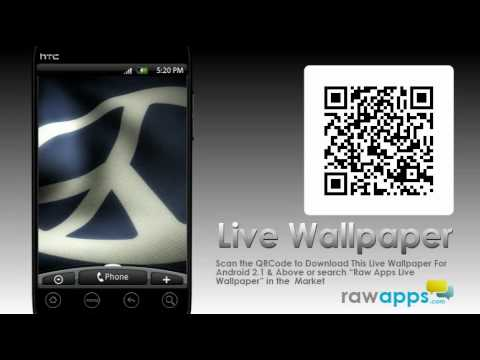 Live WallPaper App Demo Review - Symbol Of Peace