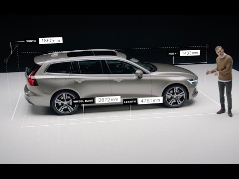 Clean Design In The New Volvo V60