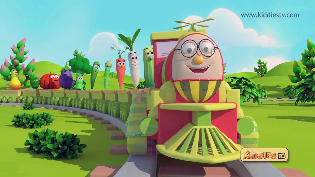 V Is For Vegetables Humpty the Train Veget...