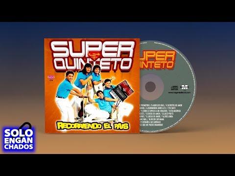 Super Quinteto  exitos Enganchados CD Entero Guarachas y Cumbias